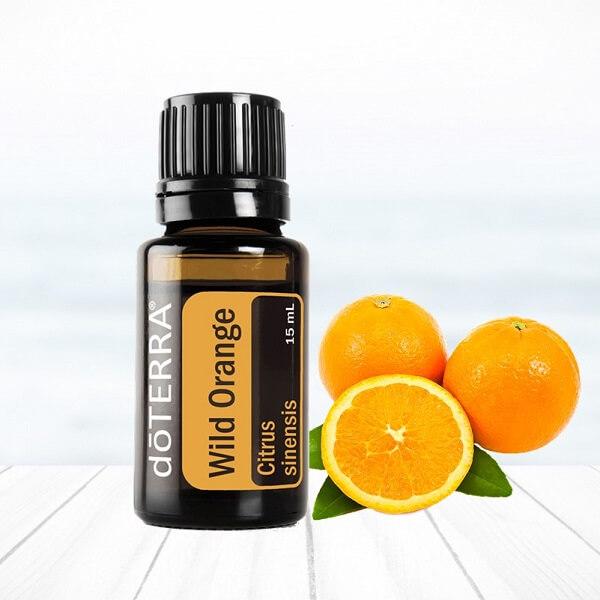 pomaranč wild orange doterra esenciálne oleje