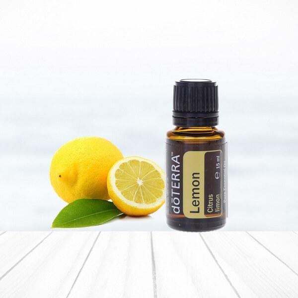 citrón lemon esenciálny olej doterra