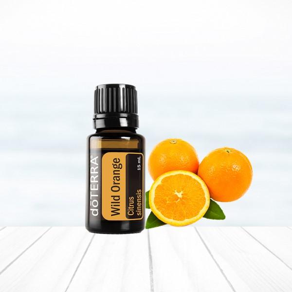 pomarnač wild orange doterra esenciálne oleje nálada psychika únava