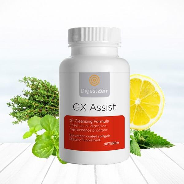 gx assist doterra detoxikácia očista