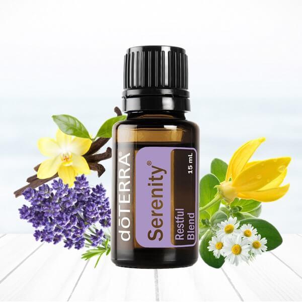 serenity doterra esenciálny olej spánok stres