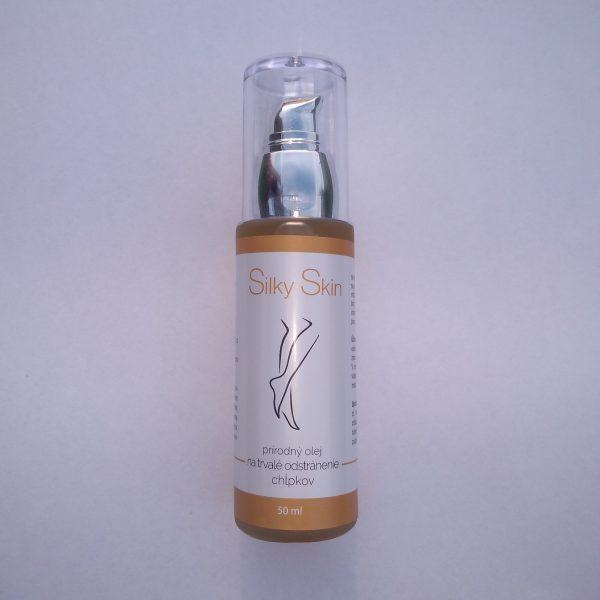 prirodny olej na odstranenie chlpkov silky skin