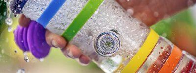 Pitný režim Inteligentná sklenená fľaša na vodu