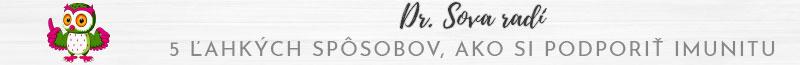 Banner Naturhome.sk Dr. Sova radi imunita esencialne oleje