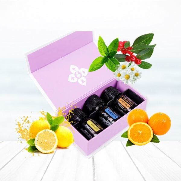 set doterra orange lemon deep blue