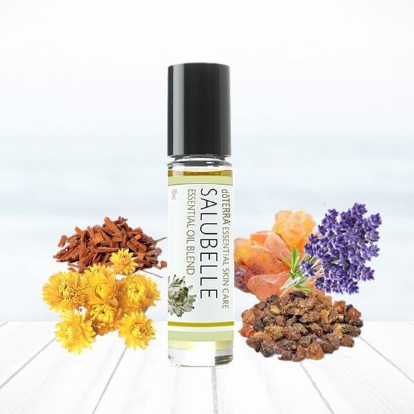 Salubelle doterra esenciálne oleje pokožka starnutie vrásky