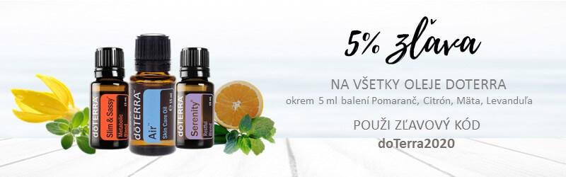 doterra esencialne oleje zlava