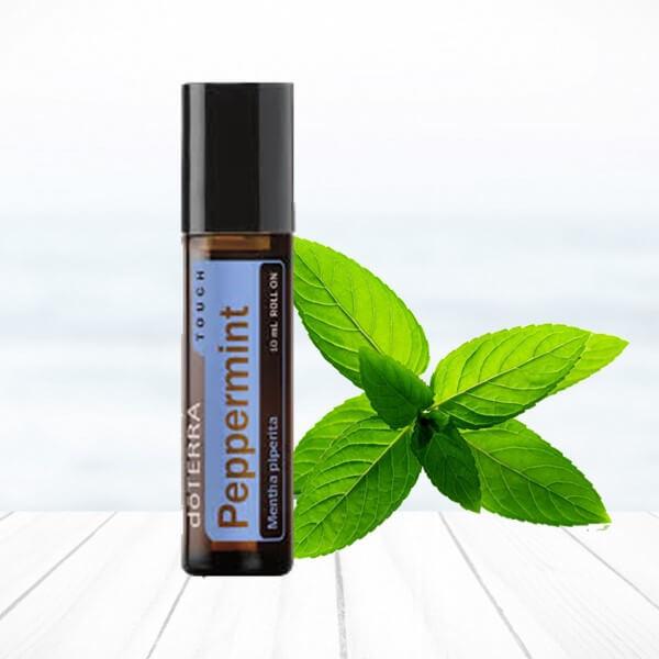 mäta peppermint doterra esenciálny olej éterický migréna