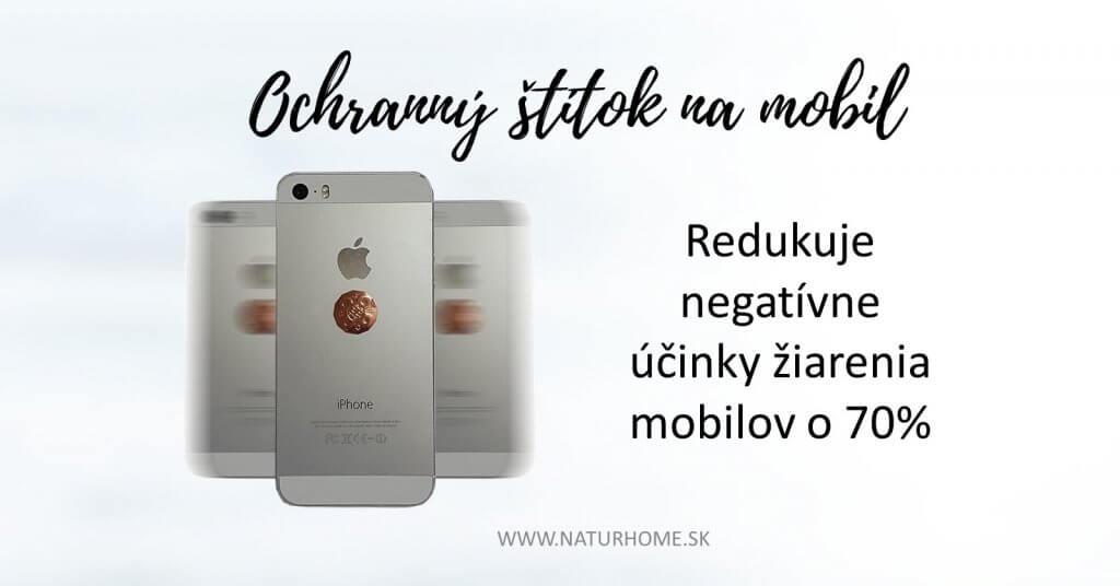 ochrana pred žiarením z mobilov poznik